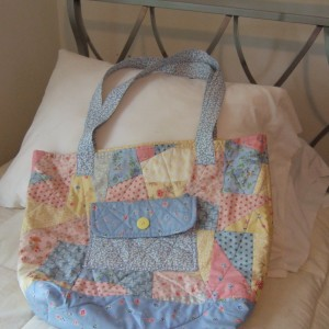 Christi's Quilted Tote Bag
