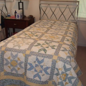 Sarah's Flying Geese Quilt