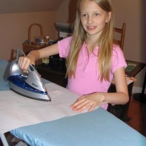Sarah Ironing