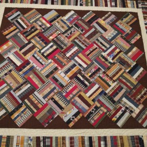 Albertson Love - a JB and Marjorie Albertson memory quilt