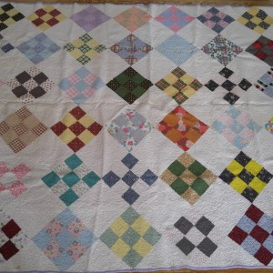 The quilt that I made when I was 5.