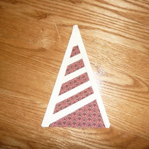 BR1 Rosemary\'s Window - FIRST TRIANGLE BORDER BLOCK