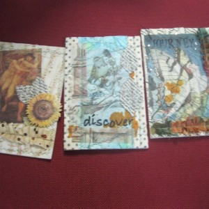 Catherine's BEAUTIFUL quilted post cards