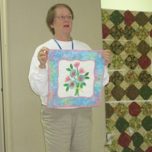Goucester Quilt Guild Show and Tell