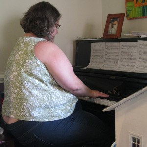 Cheryl playing MOONLIGHT SONATA