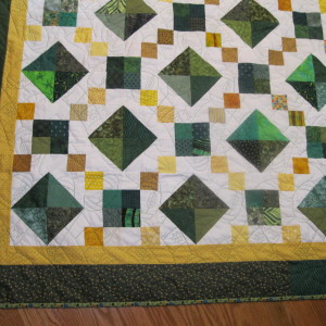 Caden's Green Bay Packer's Quilt