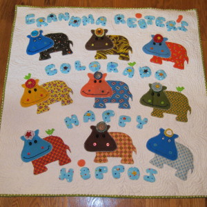 Grandma Reiter's Colorado Happy Hippos