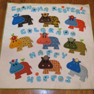 Grandma Reiter's Colorado Happy Hippos