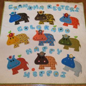 Grandma Reiter's Happy Hippos