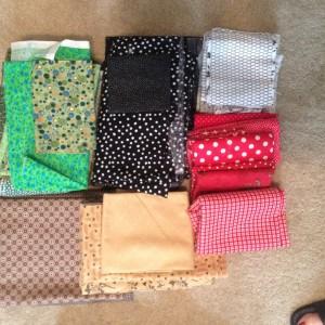 Fabric for Sao's Christmas  Grand Illusion