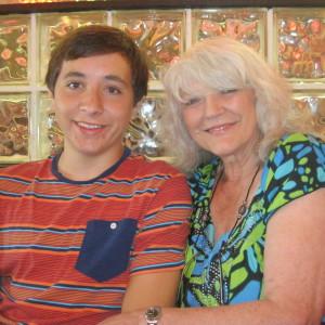 Collin and Grandma Shirley