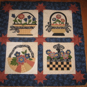 If I were A Flower Country Peicemaker's Quilt Guild Challenge 2009