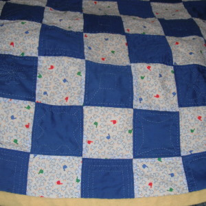 Aby's Hand Quilted Quilt