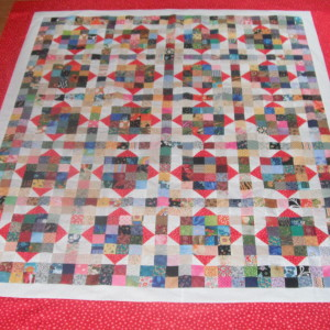 Sallie's Scrappy Chiclets Quilt