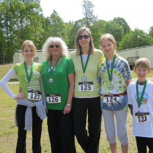 Three Generations of 5K participants