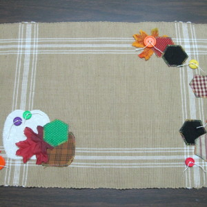 six Fall Placemats