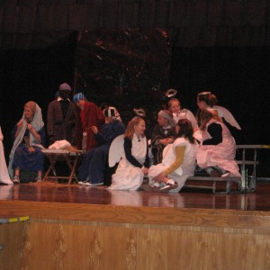 The Best Christmas Pageant Ever - Angels Talking