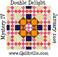 Quitlville Mystery Quilt IV: Double Delight
