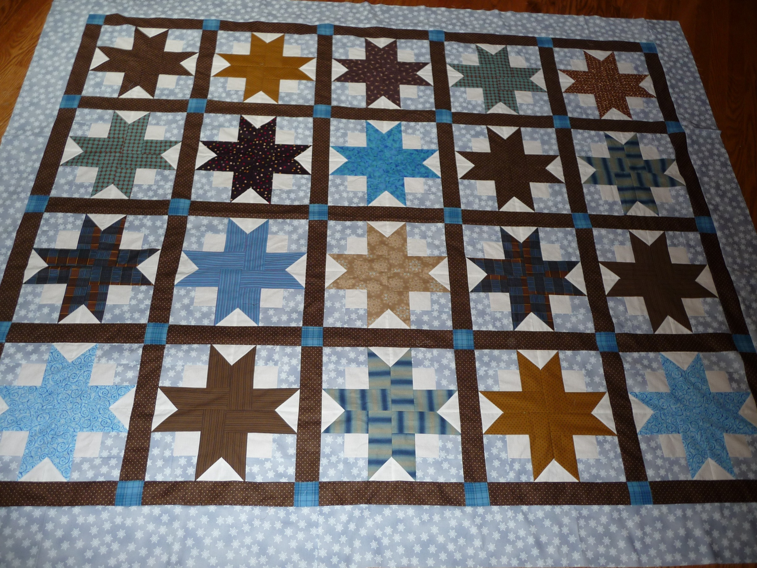 Shirley Anne's Heart » Quilty Things in SAO's World: Fred's Boxy ... : boxy stars quilt - Adamdwight.com