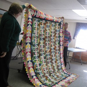 Fran's version of Bonnie's OTR MYSTERY QUILT