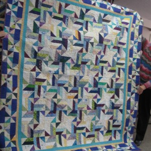 Bonnie's TROPICAL TWIST - see QUILTMAKER Jan/Feb 09
