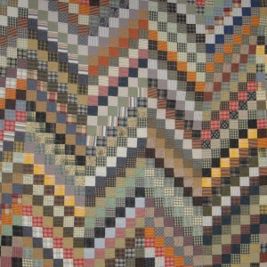 Bonnie's 2008 Super Bowl Bargello qUILT