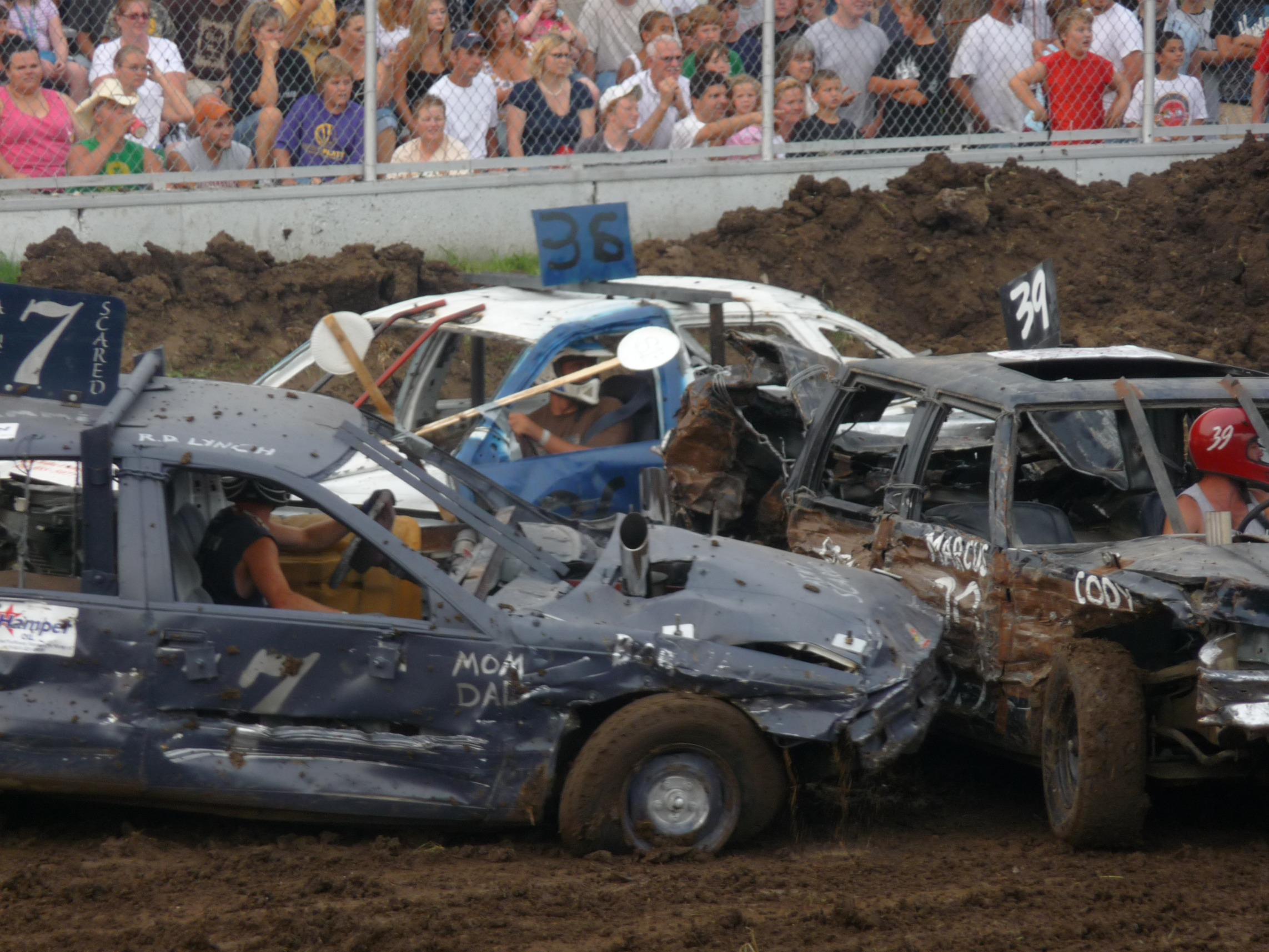 demolition derby tires