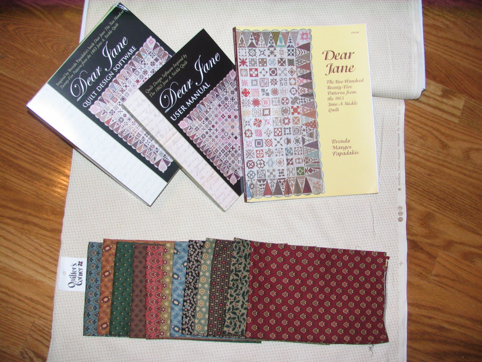 the dear jane civil war quilt