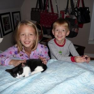 Sarah, Cooper and DAISY MAY