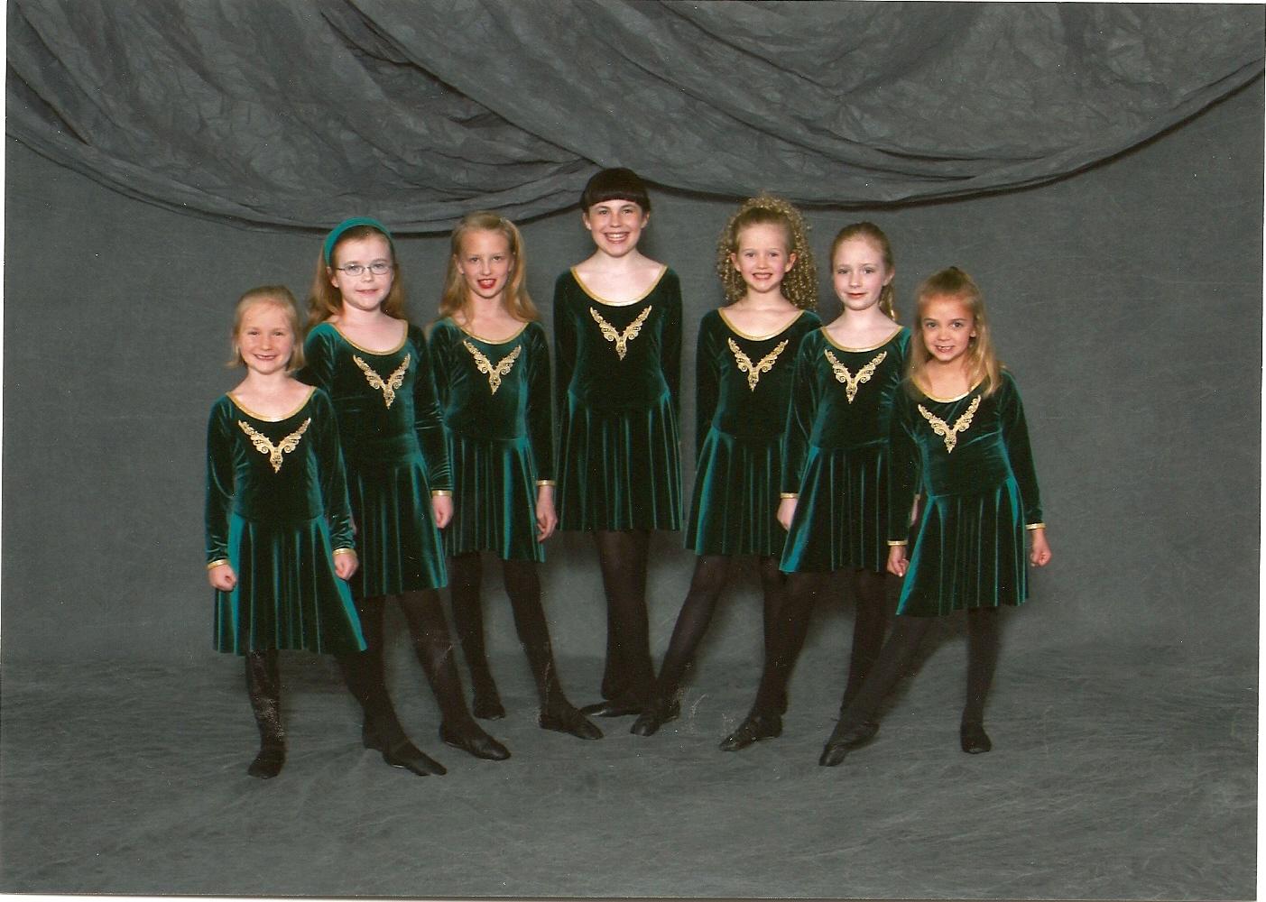 sarah and her irish group - Irish Dancer Halloween Costume